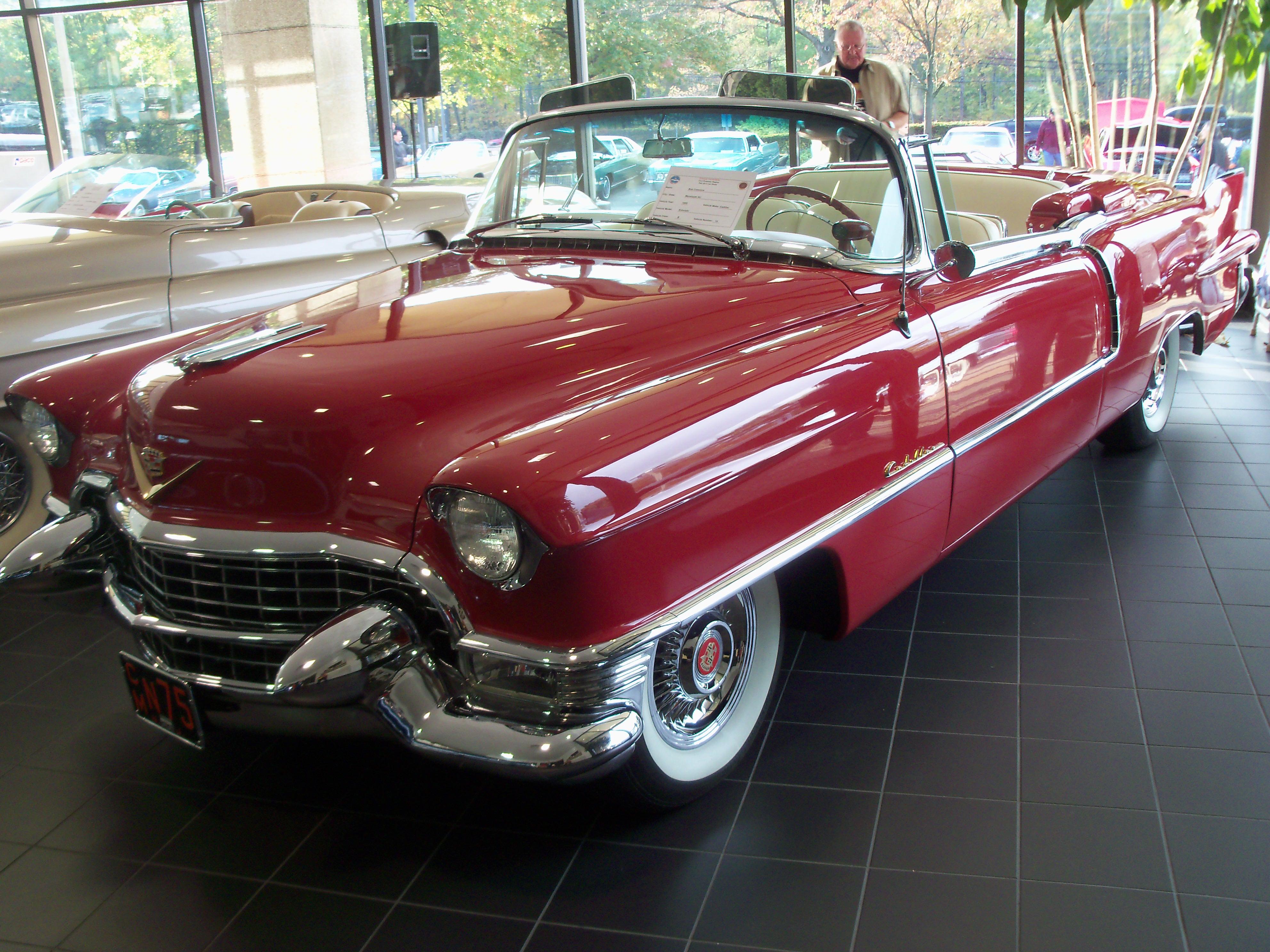 1955 Cadillac Eldorado - Raritan River Region - Cadillac ...