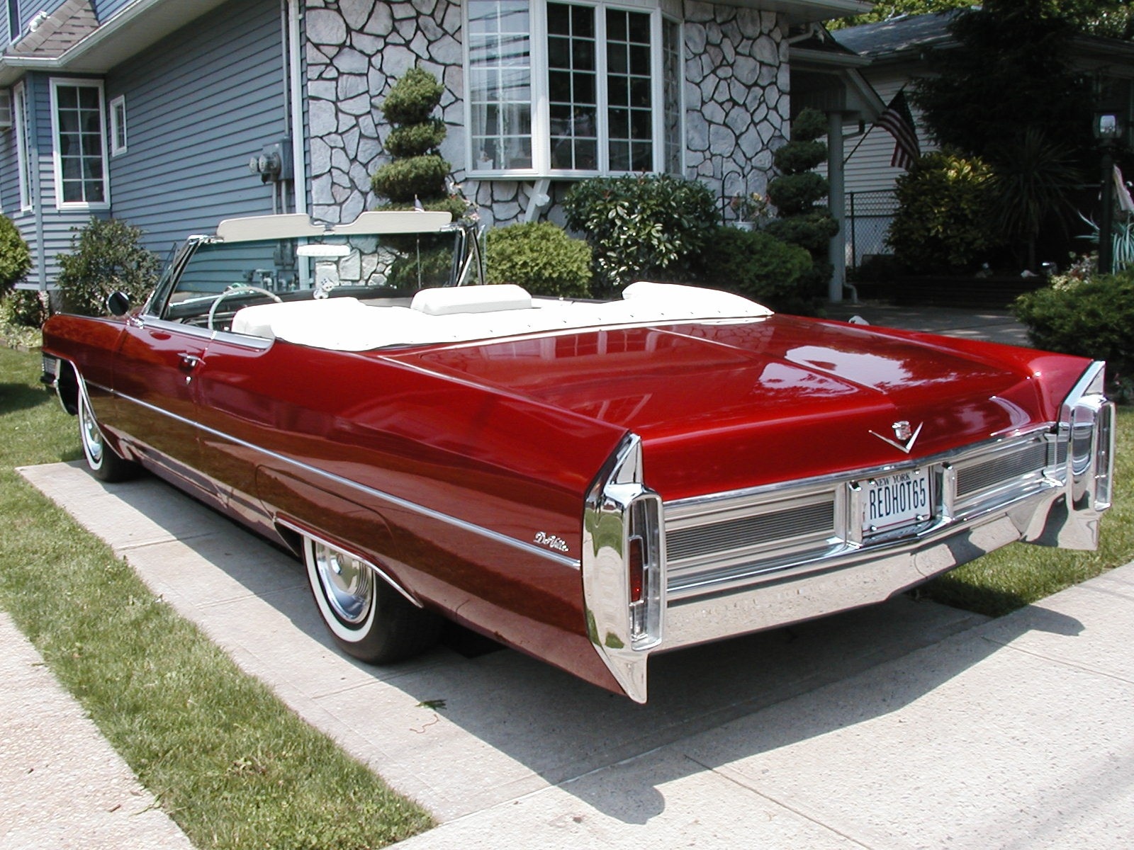 1965 cadillac deville convertable owner patrick rizzo. Black Bedroom Furniture Sets. Home Design Ideas
